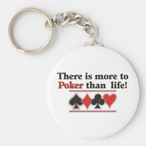 More to Poker Keychain
