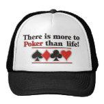 More to Poker Trucker Hat