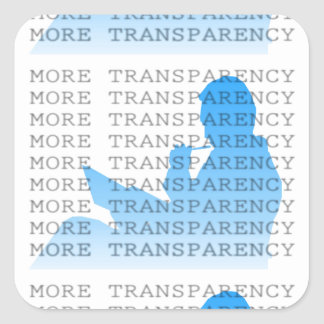 More Transparency Stickers