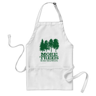 More Trees Adult Apron