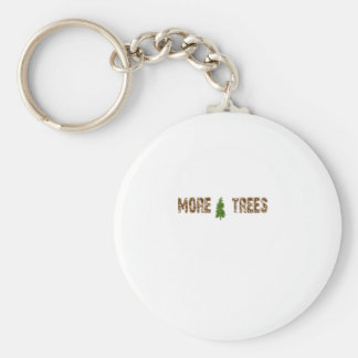 More Trees Keychain
