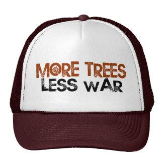 More Trees Less War Trucker Hat