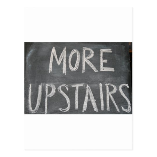 more upstairs postcard