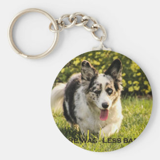 More Wag - Less Bark Key Chains