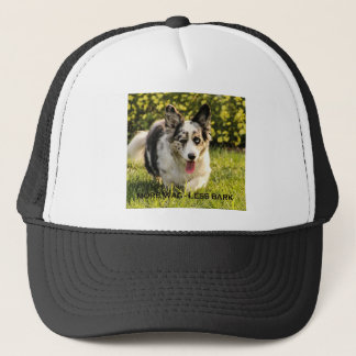 More Wag - Less Bark Trucker Hat
