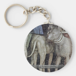 More Waiting Grooms: Dogs By Mantegna Andrea Key Chain