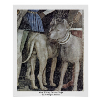 More Waiting Grooms: Dogs By Mantegna Andrea Print