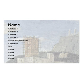 More Waiting Grooms: Landscape By Mantegna Andrea Double-Sided Standard Business Cards (Pack Of 100)