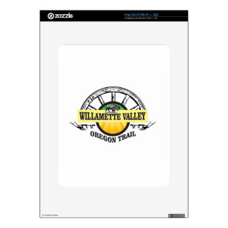 more willamette valley ot iPad skin