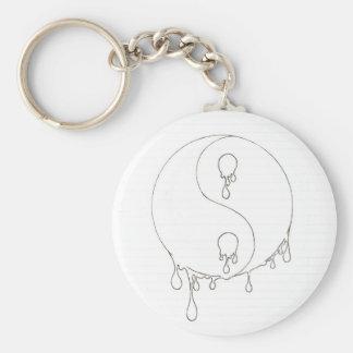 More Yin Than Yan Basic Round Button Keychain
