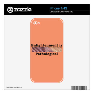 More Zen Anything Sayings - Enlightened Path iPhone 4 Decals