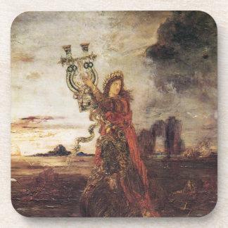 Moreau Arion fine art Beverage Coaster