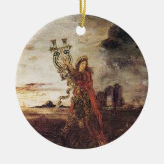 Moreau Arion fine art Ceramic Ornament