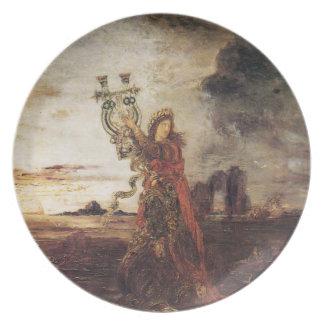 Moreau Arion fine art Plate