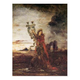 Moreau Arion fine art Postcard