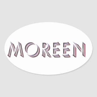 Moreen sticker