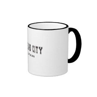 Morehead City North Carolina Ringer Mug