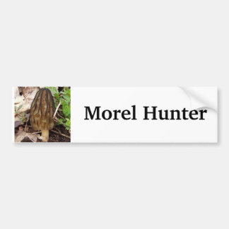 Morel Hunter Bumper Sticker