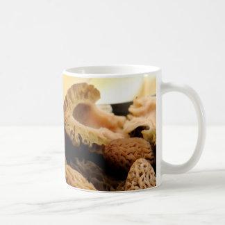 Morel Mushroom Classic White Coffee Mug