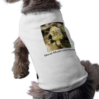 Morel Mushroom Hunter Dog T-Shirt