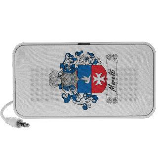 Morelli Family Crest iPod Speaker