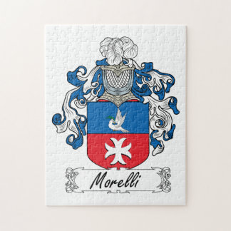 Morelli Family Crest Jigsaw Puzzle