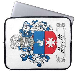 Morelli Family Crest Laptop Computer Sleeve