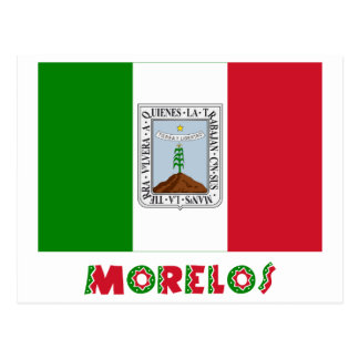 Morelos Unofficial Flag Postcard