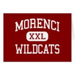Morenci - gatos monteses - High School secundaria  Tarjeta