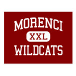 Morenci - gatos monteses - High School secundaria  Tarjeta Postal