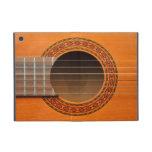 Moreno anaranjado de la guitarra clásica iPad mini carcasas