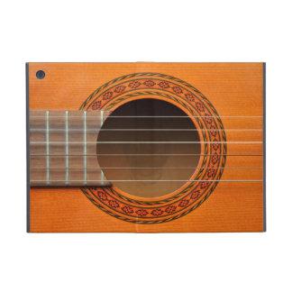 Moreno anaranjado de la guitarra clásica iPad mini coberturas