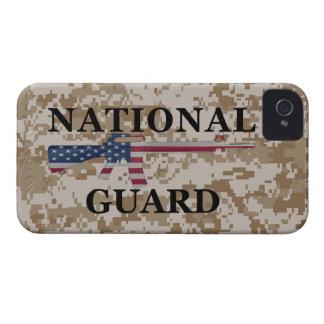 moreno Camo del Guardia Nacional del iPhone 4 iPhone 4 Case-Mate Cárcasa