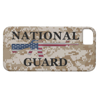 moreno Camo del Guardia Nacional del iPhone 5 iPhone 5 Carcasa