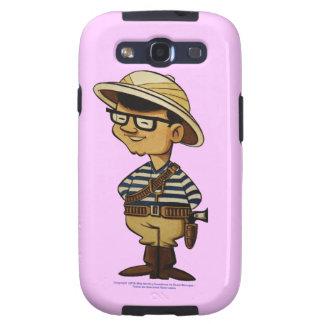 Moreno de Capitán lo largo y del todo del por de Samsung Galaxy S3 Cárcasas