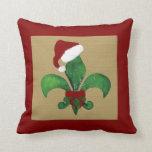 Moreno de la almohada de tiro del navidad de la