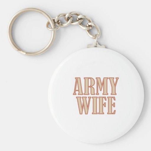 Moreno de la esposa del ejército llavero