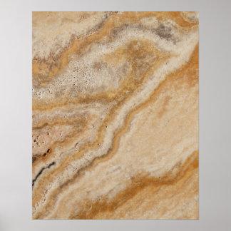Moreno de mármol de la plantilla de la piedra del póster