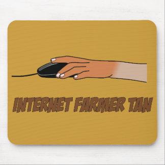 Moreno del granjero del Internet Tapete De Ratones