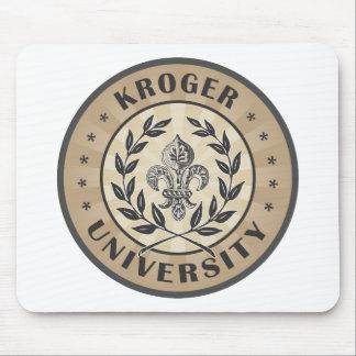 Moreno del vintage de la universidad de Kroger Tapete De Ratón