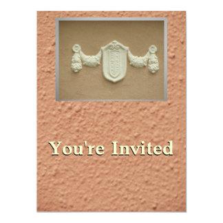 Moreno en de color topo invitación 16,5 x 22,2 cm