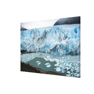 Moreno Glacier And Lake Argentino Canvas Print