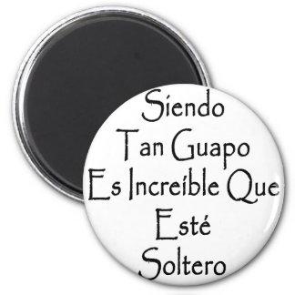 Moreno Guapo Es Increible Que Este Soltero de Sien Imán Redondo 5 Cm