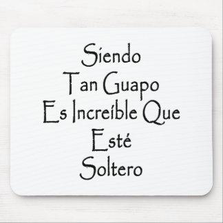 Moreno Guapo Es Increible Que Este Soltero de Sien Tapetes De Ratones