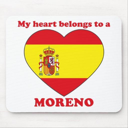Moreno Mouse Pad