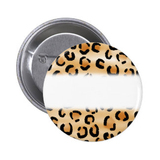 Moreno, negro y modelo del estampado leopardo de B Pin