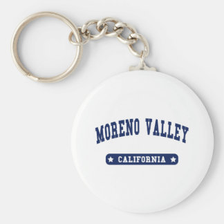 Moreno Valley California College Style tee shirts Keychains