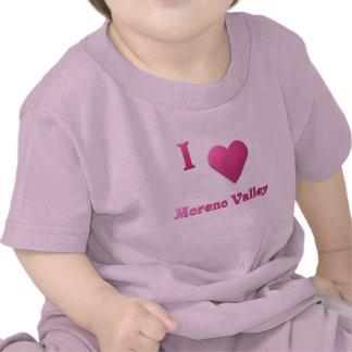 Moreno Valley -- Hot Pink Tee Shirts