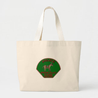 Moreno Valley Police Large Tote Bag