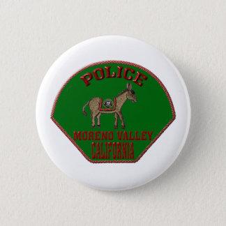 Moreno Valley Police Pinback Button